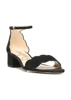 Sam Edelman Inara Scalloped Block Heel Sandal (Women)
