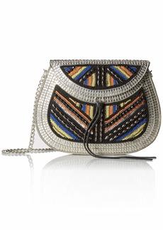 Sam Edelman Iron Embellished Handbag multi