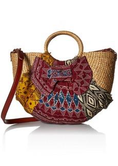 Sam Edelman Jaelynn Convertible Top Handle Bag aztec multi