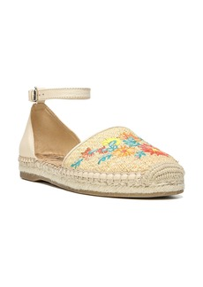 Sam Edelman Jemmie Peacock Embroidered Espadrille (Women)
