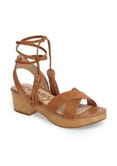 Sam Edelman Jenna Ankle Wrap Sandal (Women)