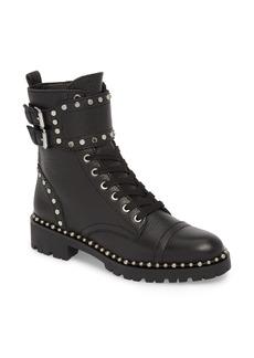 Sam Edelman Jennifer Studded Combat Boot (Women)