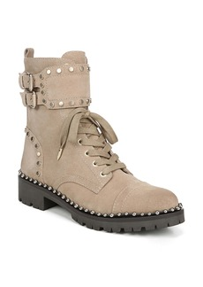 Sam Edelman Jennifer Studded Combat Boot (Women)