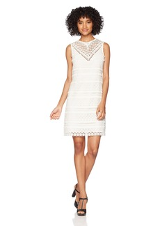 Sam Edelman Junior's Lace Fringe Sheath Dress