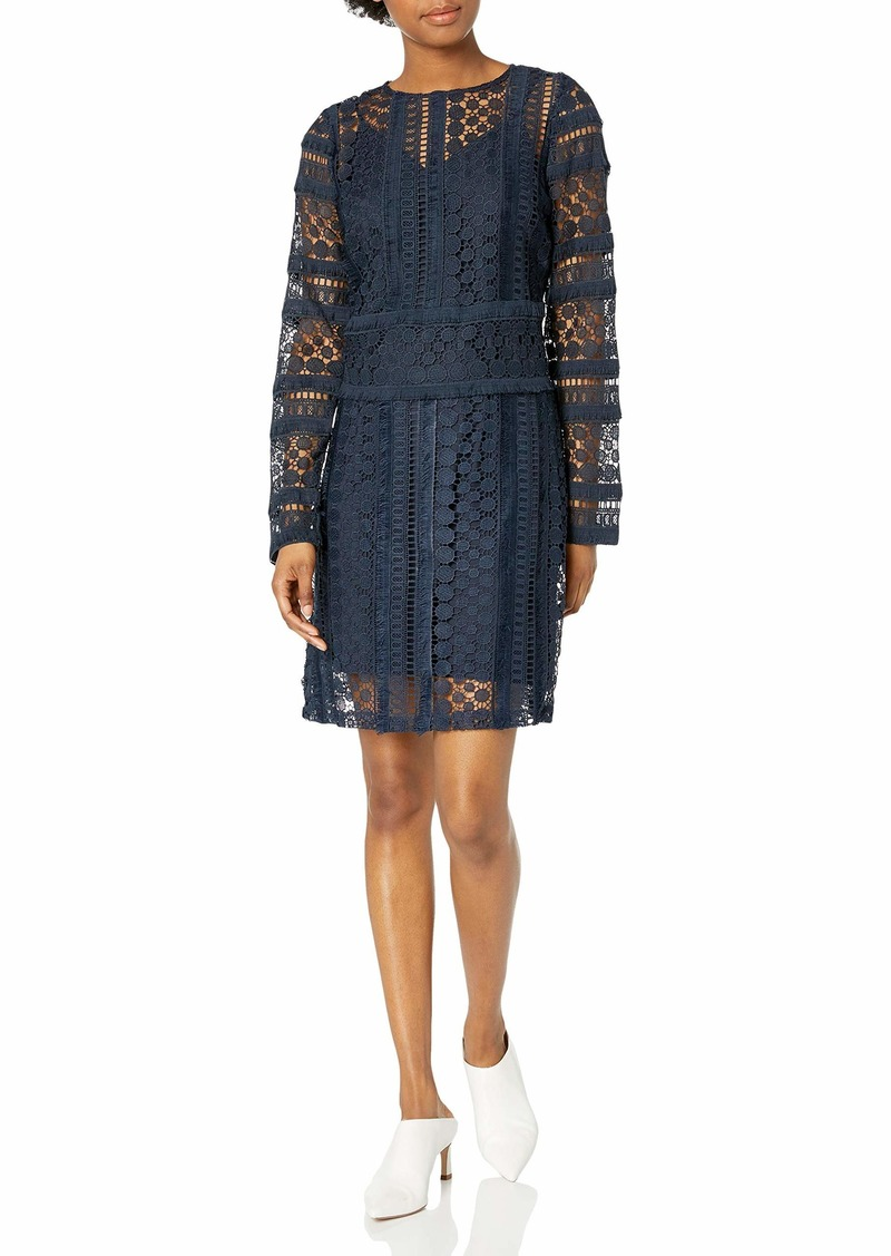 Sam Edelman Junior's Long Sleeve Lace with Illusion
