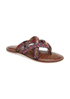 Sam Edelman Karly Beaded Slide Sandal (Women)