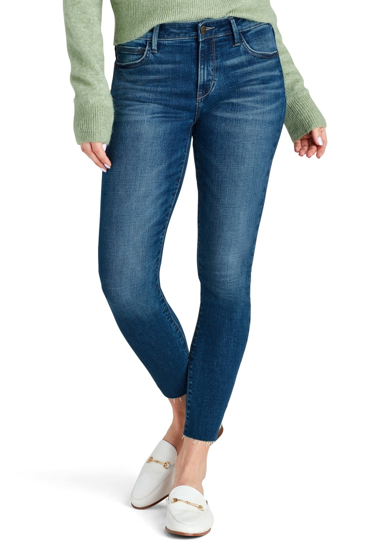 Sam Edelman Kitten Raw Hem Skinny Jeans (Beatrice)