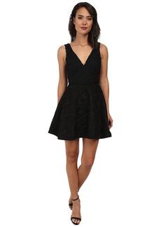 Sam Edelman Lace Plunge V-Neck Dress