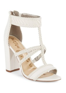 Sam Edelman Leather Yordana T-Strap Sandals