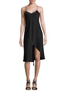 Sam Edelman Leopard Slip Midi Shift Dress