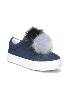 Sam Edelman 'Leya' Faux Fur Laceless Sneaker (Women)