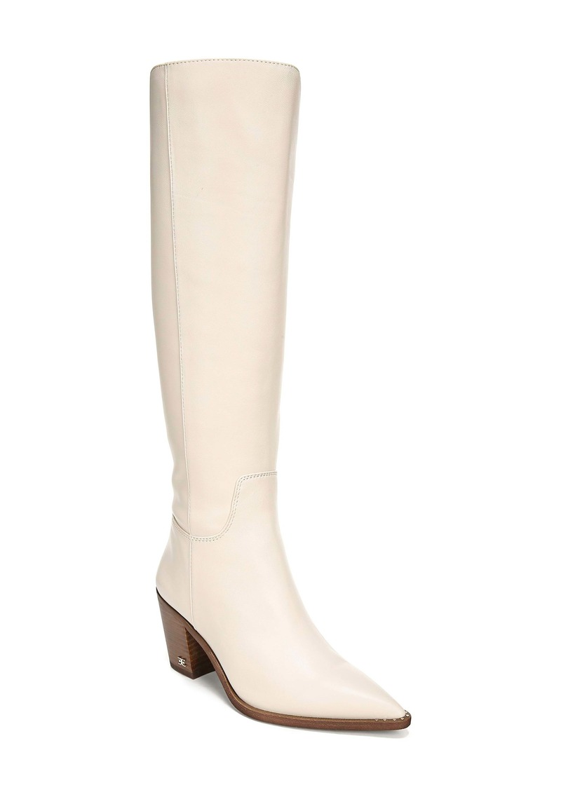Sam Edelman Lindsey Pointed Toe Knee High Boot (Women)
