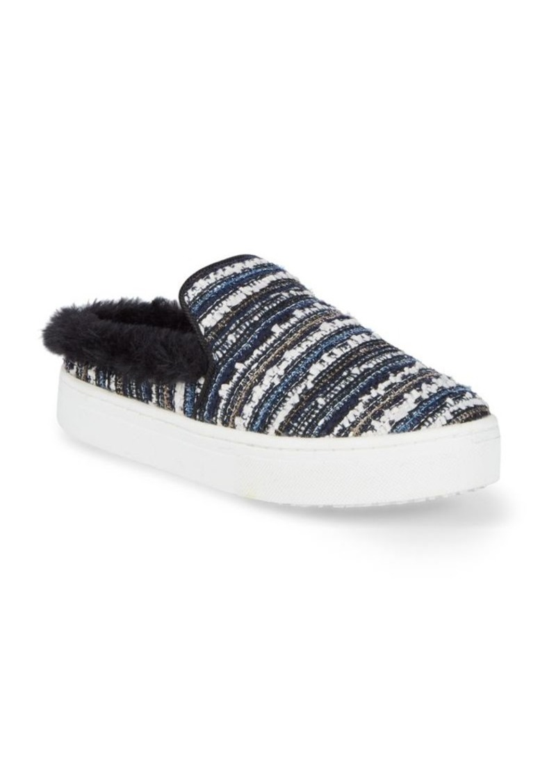 Sam Edelman Lois Faux Fur Slip-On Sneakers