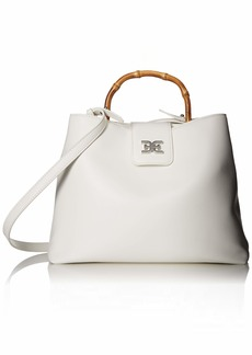 Sam Edelman Lois Top Handle Handbag white