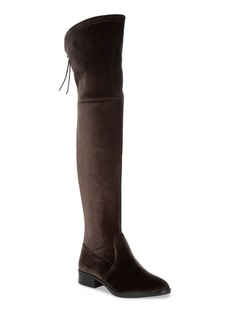Sam Edelman Long Velvet Adjustable Boots