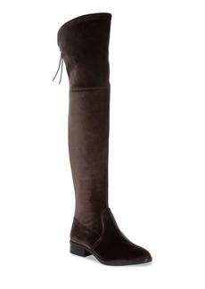 Sam Edelman Long Velvet Adjustable Boots
