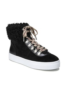 Sam Edelman Luther Faux Shearling High Top Sneaker (Women)