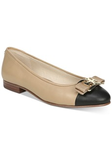 Sam Edelman Mage Logo Cap-Toe Ballet Flats Women's Shoes