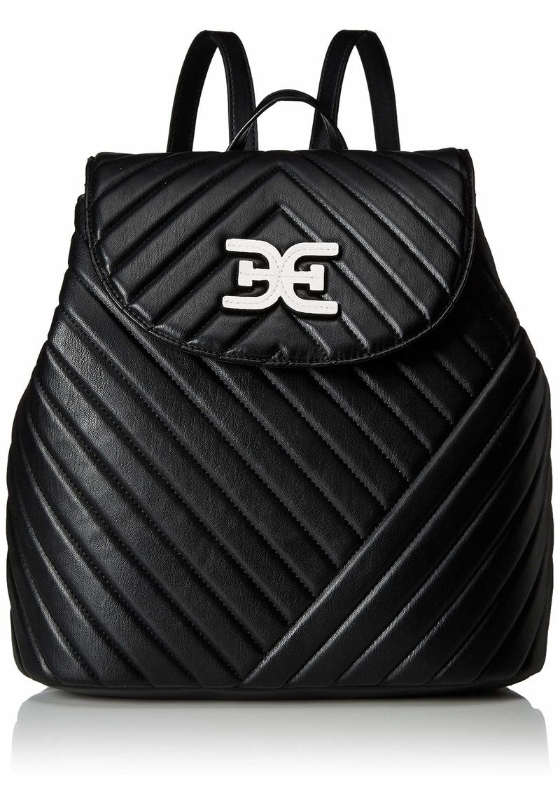 Sam Edelman Martha Flap Backpack black