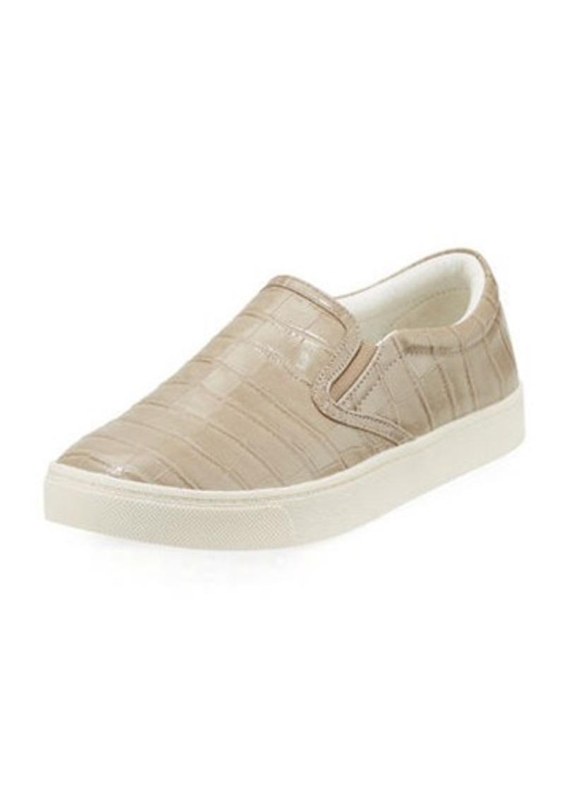 Sam Edelman Marvin Croc-Print Skater Sneaker