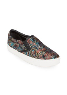 Sam Edelman Marvin Paisley Slip-On Sneakers