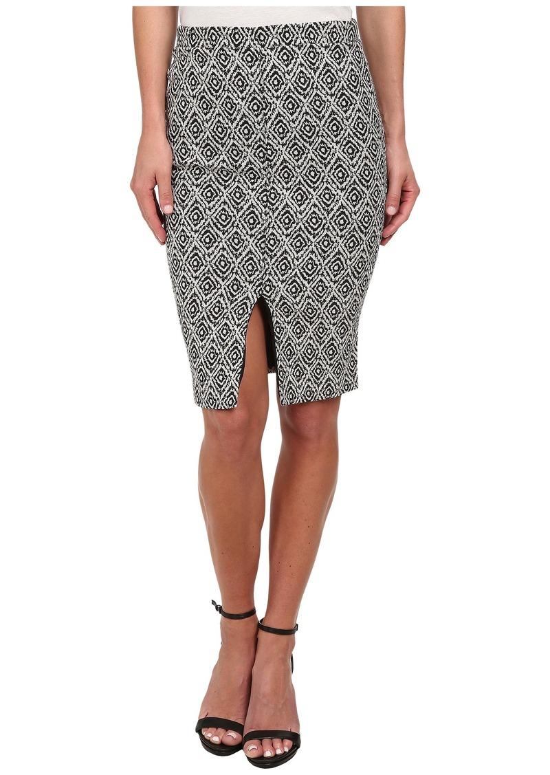 Sam Edelman Match Slip Front Midi Skirt