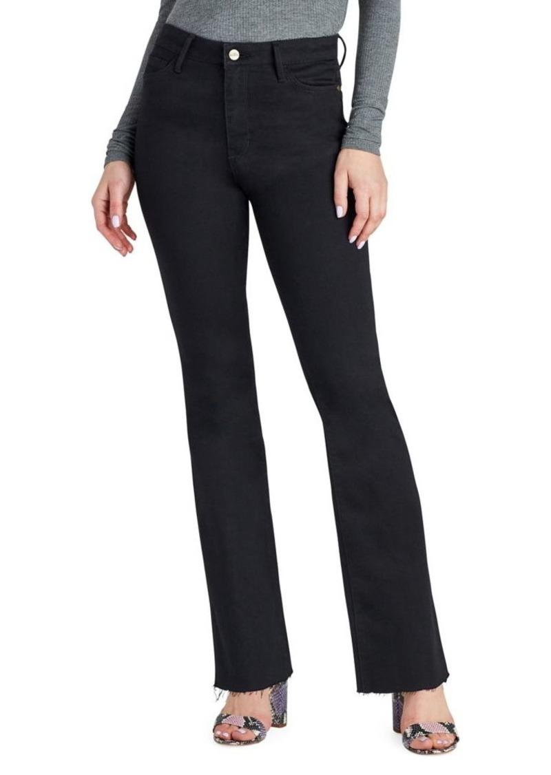 Sam Edelman Mercedes Bootcut Ripped Jeans