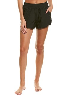 Sam Edelman Mesh-Trim Short