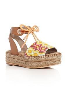 Sam Edelman Neera Embellished Platform Espadrille Sandals