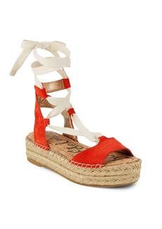 Sam Edelman Nona Lace-Up Platform Sandals