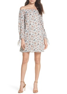 Sam Edelman Off the Shoulder Shift Dress