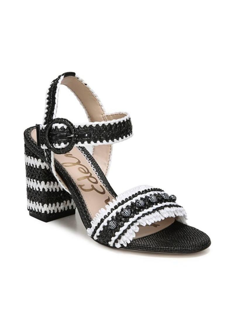 c4280de19d03f Sam Edelman Sam Edelman Olisa Leather Ankle-Strap Sandals