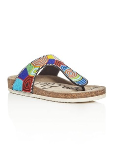 Sam Edelman Olivie Beaded Thong Sandals