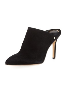 Sam Edelman Oran Suede Point-Toe 85mm Mule Pump