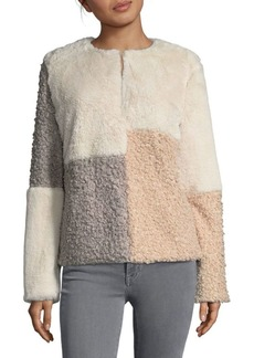 Sam Edelman Patchwork Reversible Jacket