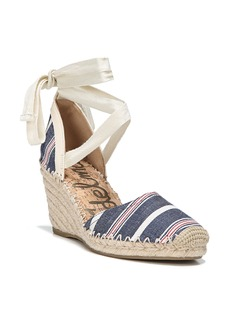 Sam Edelman Patsy Wraparound Espadrille Wedge (Women)
