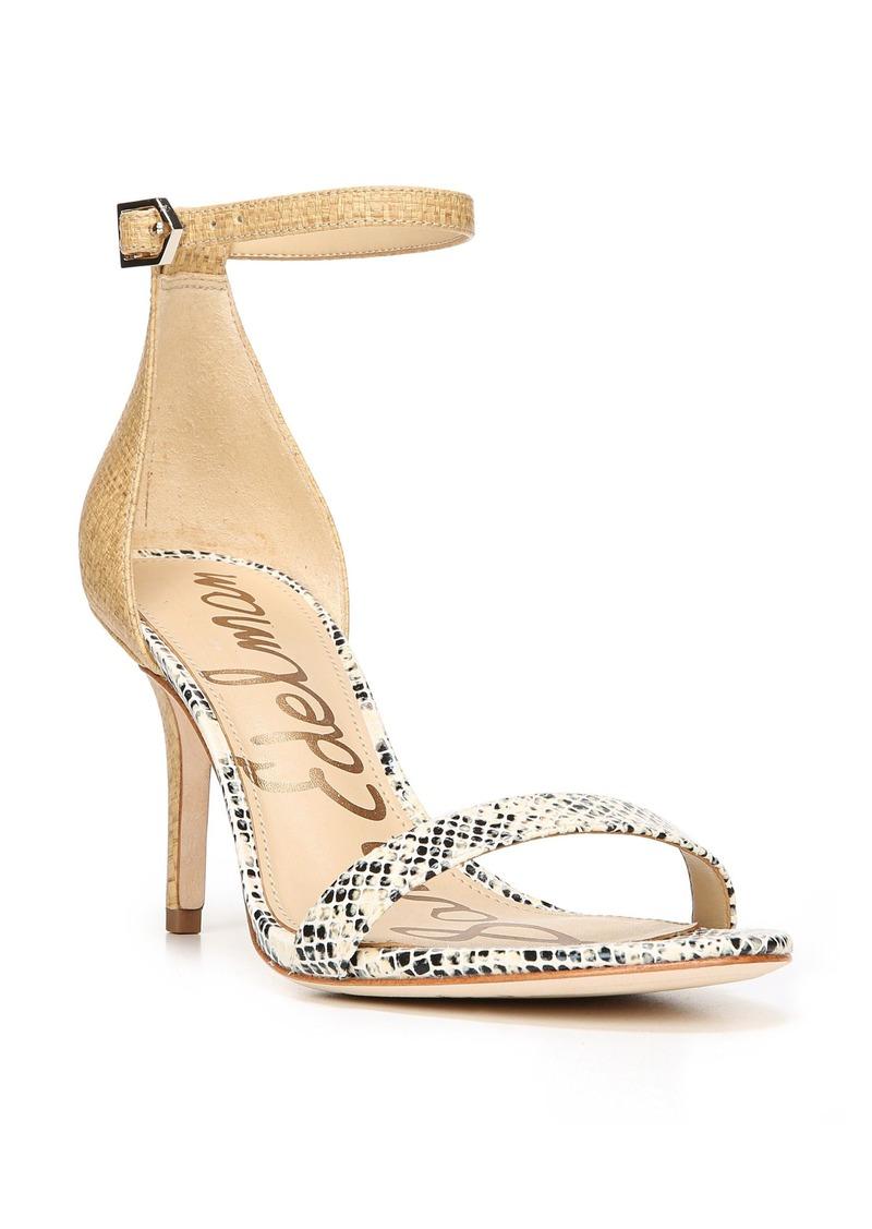 4c5b3fbe74f26a SALE! Sam Edelman Sam Edelman  Patti  Ankle Strap Sandal (Women)