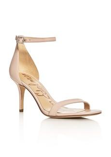 Sam Edelman Patti Leather Ankle Strap Sandals