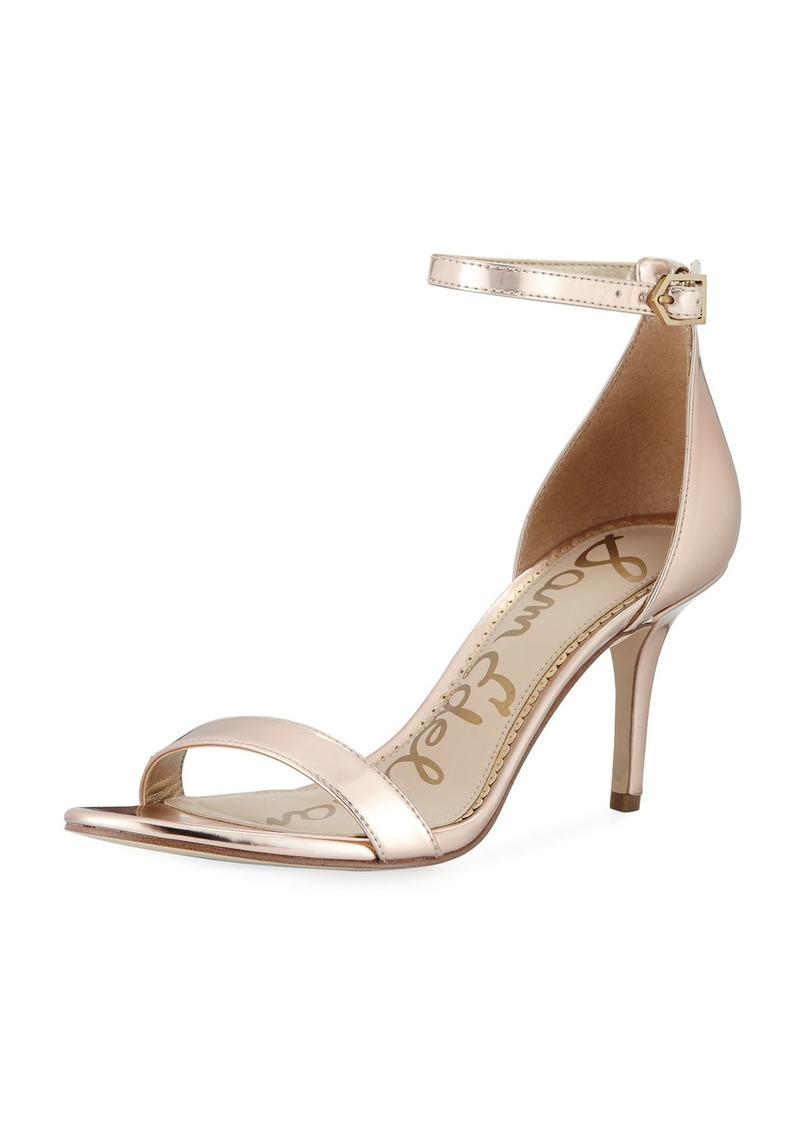 27069654929594 Sam Edelman Patti Metallic Ankle-Strap Sandal