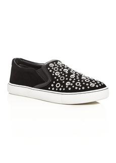Sam Edelman Paven Embellished Slip On Sneakers