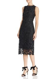 Sam Edelman Peacock Lace Midi Dress