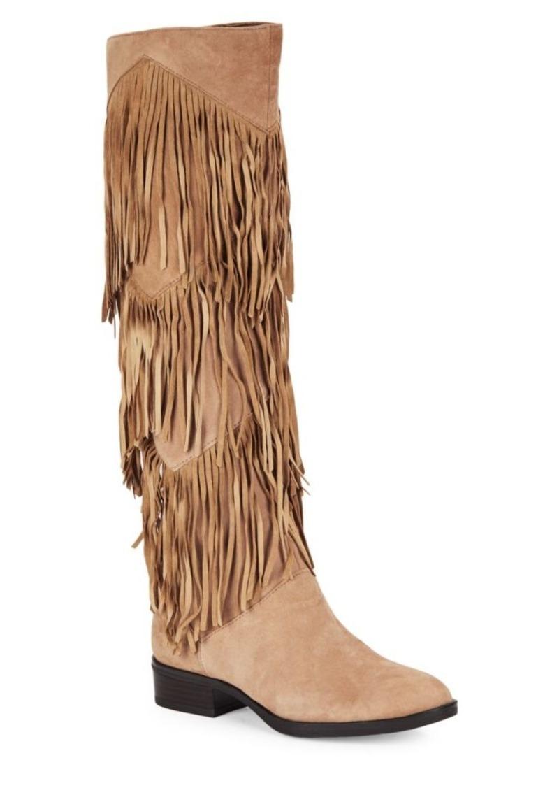 76542504f72d17 On Sale today! Sam Edelman Sam Edelman Pendra Suede Fringe Boots