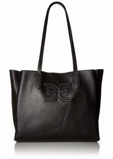 Sam Edelman Penelope Triple Compartment Shoulder Bag black