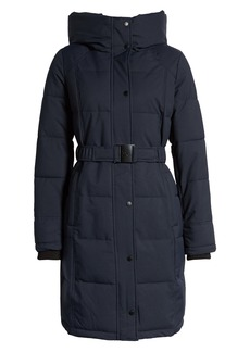 Sam Edelman Pillow Collar Belted Puffer Coat