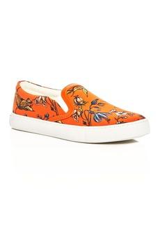 Sam Edelman Pixie Floral Print Slip-On Sneakers
