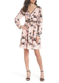 Sam Edelman Print Babydoll Dress
