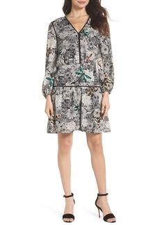 Sam Edelman Print Blouson Dress