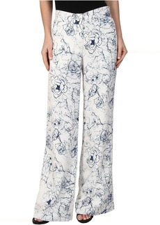 Sam Edelman Printed Floral Trouser