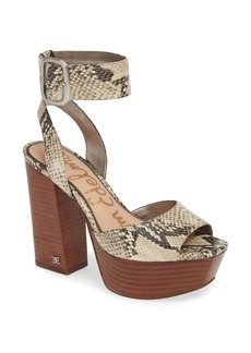 Sam Edelman Rain Platform Ankle Strap Sandal (Women)