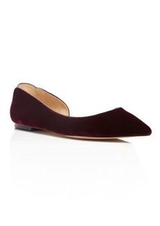 Sam Edelman Reema Velvet d'Orsay Pointed Toe Flats - 100% Exclusive